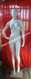 patung full body wanita dewasa material fiber glass ukuran standar bule -- patung full body wanita dewasa material fiber glass tinggi 1.7m