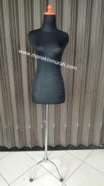 kaki besi patung Material besi chrome tinggi 1,2m untuk penyangga patung