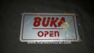 open close material acrylic
