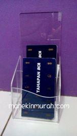 acrylic brosur 2 ruang material acrylik