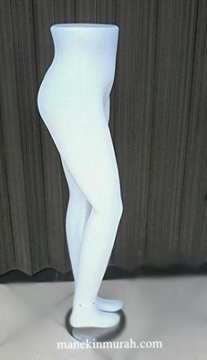 patung kaki wanita dewasa material plastik bening