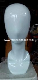 patung kepala wanita bahan fiber glass