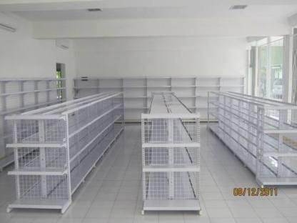 RAK GONDOLA DOUBLE atau RAK INDOMARET UKURAN TINGGI 1,2 M PANJANG 90 CM RP 1.350.000/ SET